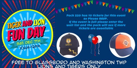 Lion and Tiger Fun Day tickets