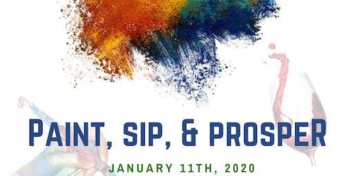 Paint, Sip, and Prosper