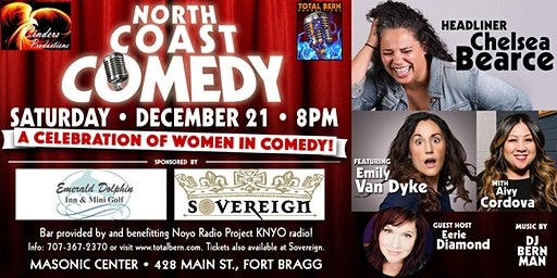 "North Coast Comedy Presents ""A Celebration of Women In Comedy"""