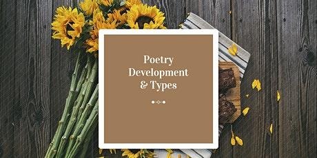 Poetry Development & Types tickets