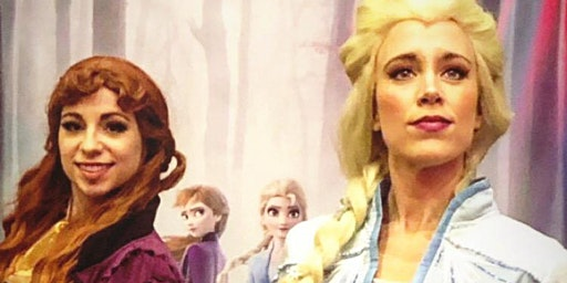 Holiday storytime with Elsa and Anna