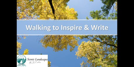 Walking to Inspire & Write tickets