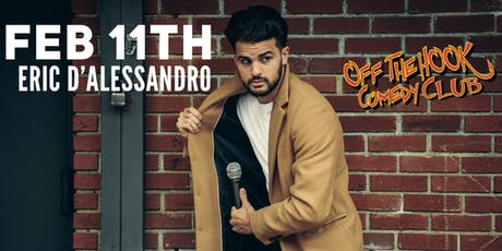 Comedian Eric D'Alessandro Live In Naples, FL Off the hook comedy club tickets