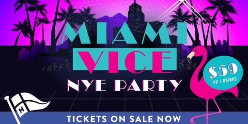 New Years Eve Party - Miami Vice