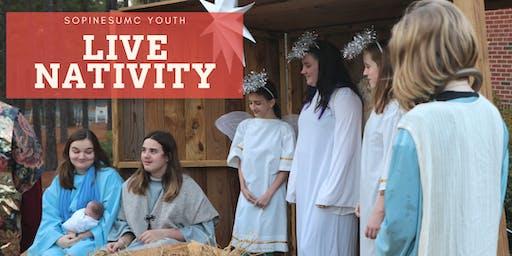 SoPinesUMC Live Nativity