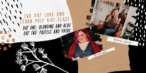 TWO DAY LOOK AND LEARN: naturals and creative color!