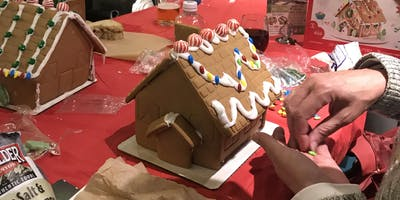 Gingerbread House and Cookie Decorating Party!