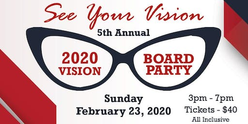 "2020 Vision Board Party ""See Your Vision"""