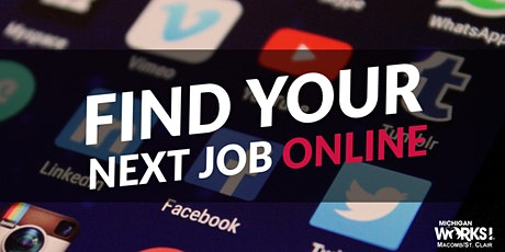 Find Your Next Job Online tickets