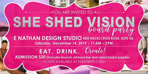 She Shed Vision Board Party