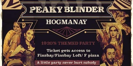 Peaky Blinders - NYE Party - Finsbay tickets