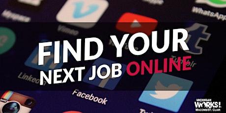 Find Your Next Job Online tickets
