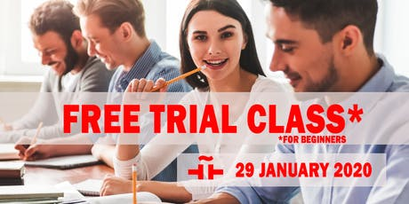 Spanish Language FREE TRIAL CLASS - SUMMER TERM 2020 tickets