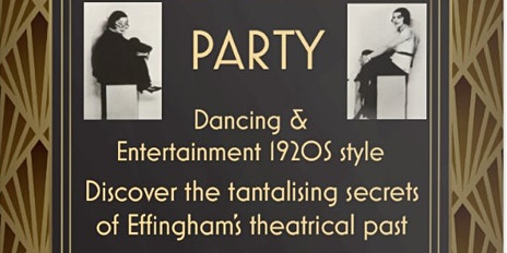 Book Launch Effingham - Discover the tantalising secrets of Effingham's theatrical past