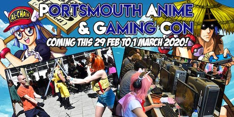 Portsmouth Anime & Gaming Con tickets