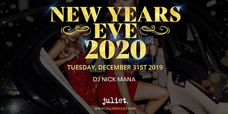 NYE INSIDE JULIET NIGHTCLUB tickets