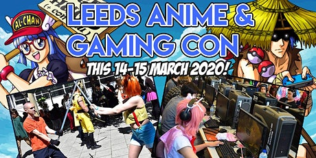 Leeds Anime & Gaming Con tickets