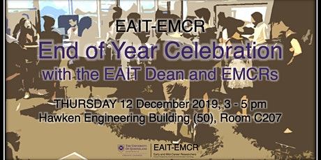 EAIT-EMCR End of Year Celebration with the EAIT Dean and EMCRs tickets