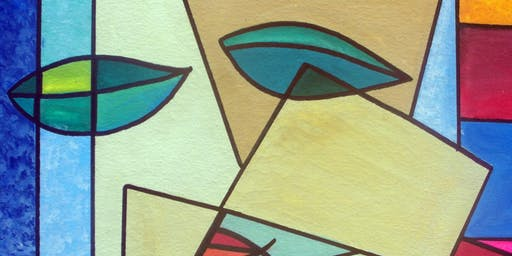 Picasso Inspired Cubist Art