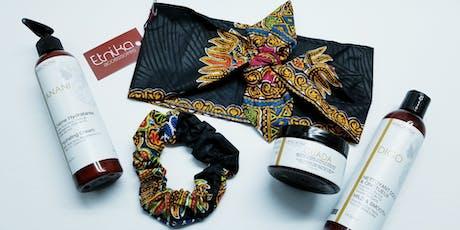 Atelier attaché turban par Etnika billets
