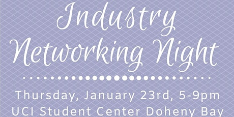 SWE at UCI Industry Networking Night 2020: Expanding the Possibilities tickets