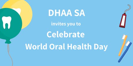 DHAA SA - World Oral Health Day March Supper tickets