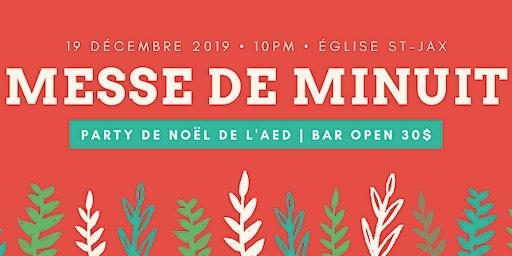 MAIZ DE MINUIT - Party de Noël de l'AED