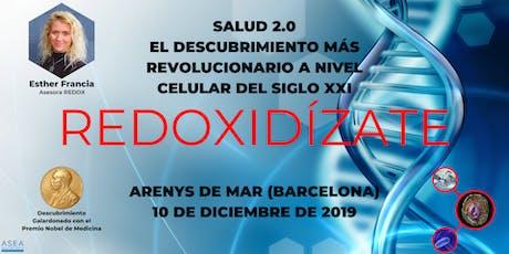 SALUD 2.0, EL DESCUBRIMIENTO MÁS REVOLUCIONARIO DEL SIGLO XXI (ARENYS MAR) entradas