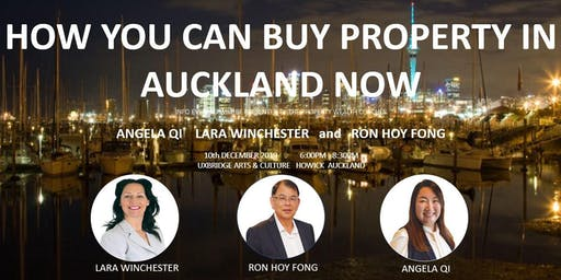 How You Can Buy Property In The Auckland Market Now