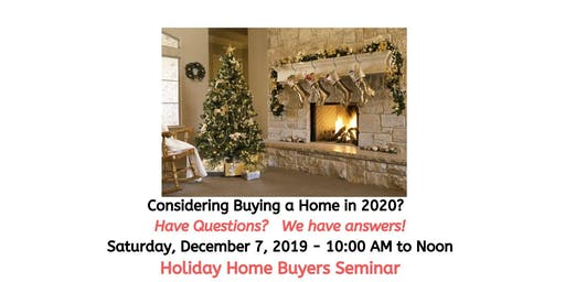 Holiday Home Buyer Seminar