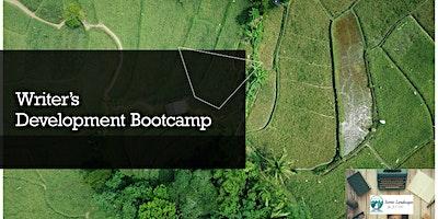 Writer's Development Bootcamp