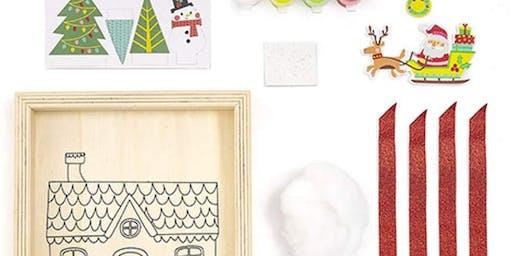 Art Tales: Foamies Christmas Scene