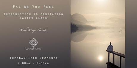 PAYF - Introduction to Meditation with Maja Novak tickets