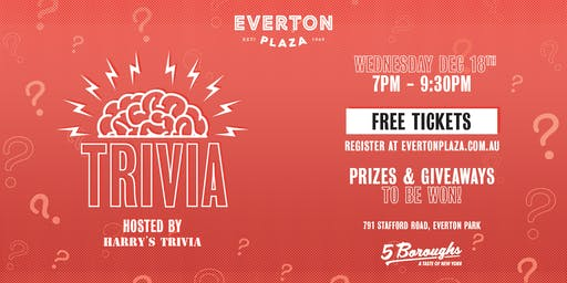 Trivia at Everton Plaza
