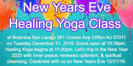 12/31/19 Healing Yoga Class New Years Eve tickets