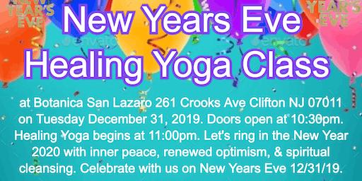 12/31/19 Healing Yoga Class New Years Eve