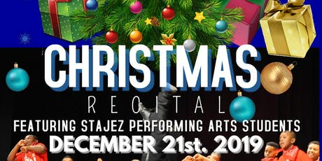 STAJEZ CULTURAL ARTS CENTER PRESENTS HIP-HOP HOLIDAY  3PM MATINEE SHOW tickets