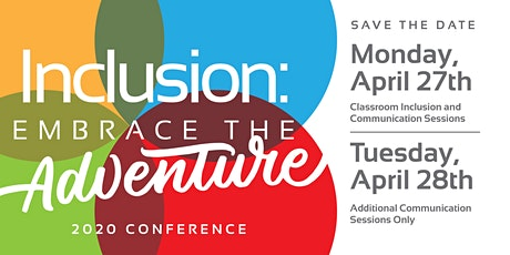 Inclusion: Embrace the Adventure 2020 Conference tickets