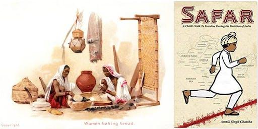Safar ~ Remembering his walk to freedom | Live storytelling, bookreading & vintage photo postcard slideshow