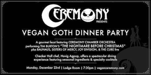 "Vegan Goth ""Nightmare Before Christmas"" Dinner Party"
