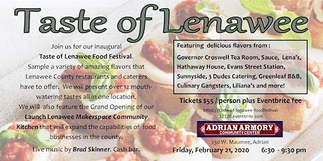 Taste of Lenawee Food Festival tickets