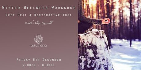 PAYF Winter Wellness Workshop: Deep Rest & Restorative Yoga tickets