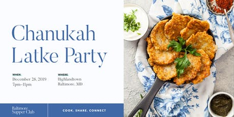 Baltimore Supper Club: Chanukah Latke Party tickets