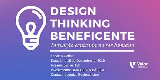 DESIGN THINKING BENEFICENTE - ED. DE NATAL