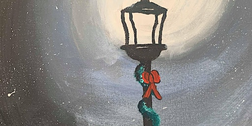 Lamppost Painting
