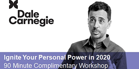 Ignite Your Personal Power in 2020 tickets