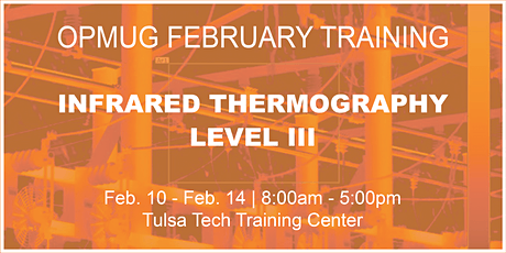 Infrared Thermography Level III Training tickets