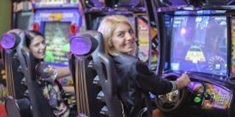 School Holiday Program: Daytona and Arcade Games tickets