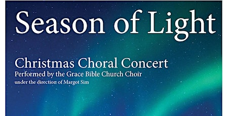 Season of Lights Choral Concert tickets