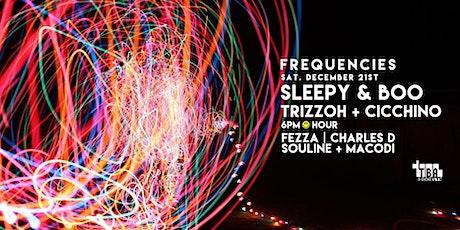 Sleepy & Boo - Frequencies @ TBA Brooklyn - free entry tickets